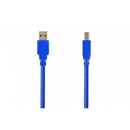 USB 3.0 AM - BM conexion