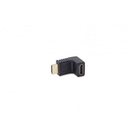 Adapter HDMI Male-HDMI Female 90º
