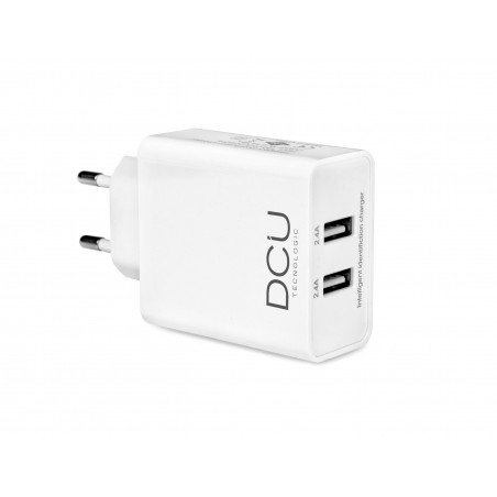 USB charger 5V (2.4 A + 2.4 A)