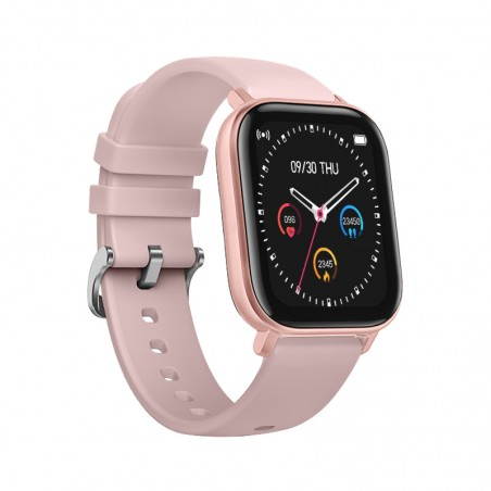 Smartwatch Curved Glass Pink