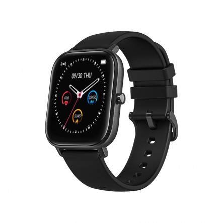 Smartwatch Curved Glass Noir