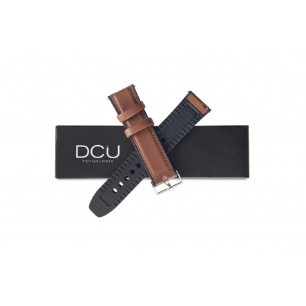 Brown leather strap 21mm...