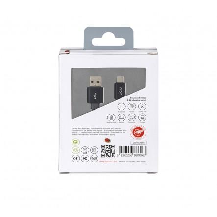 Cable USB Tipus C a USB pla...