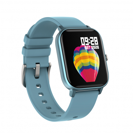 Smartwatch Curved Glass Blue