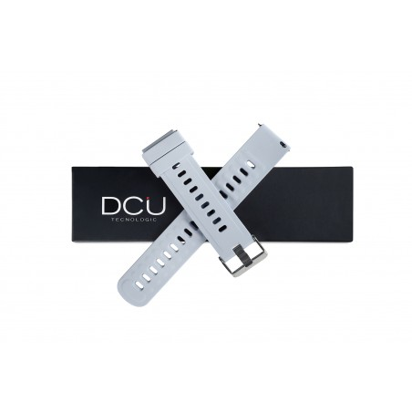Bracelet en silicone gris...