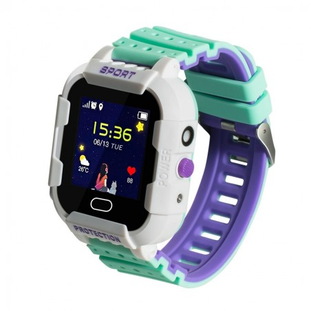 Green kids Smartwatch with...