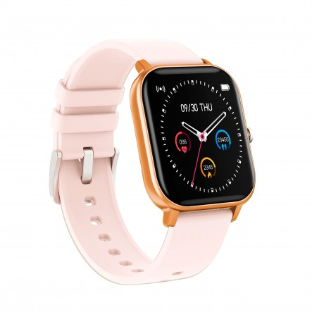Smartwatch Curved Glass Peach