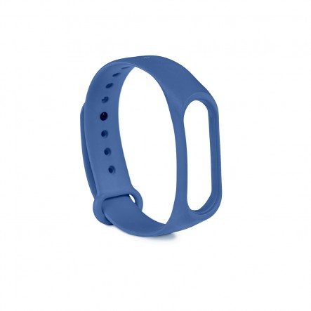 Blue silicone band for...
