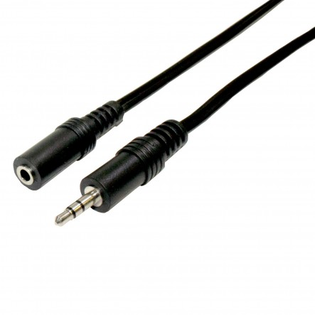 Connection Audio jack 3.5mm male-female stereo