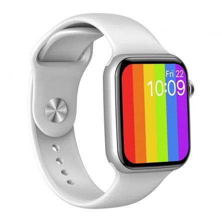 Smartwatch Colorful blanc +...