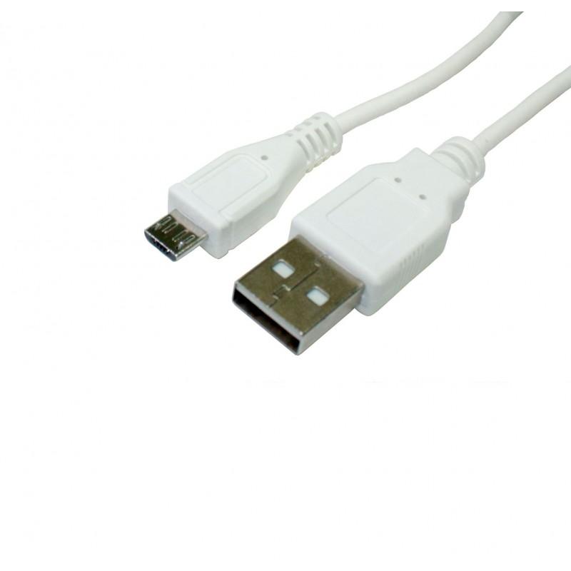 Connexió USB - Micro USB carregador