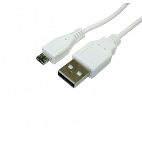 Conexión USB - Micro USB cargador