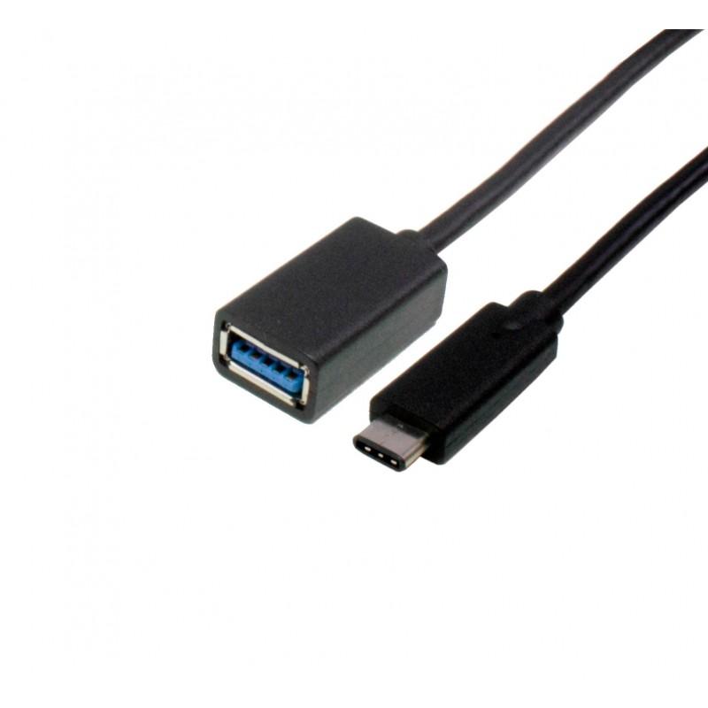 USB Type C to Type AF 0,2.M