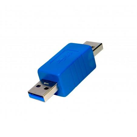 Adaptador USB 3.0 A - USB 3.0 M