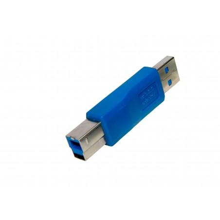 Adaptador USB 3.0  AM - BM