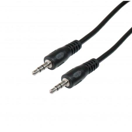 Conexión Audio jack 3.5mm macho-macho stereo