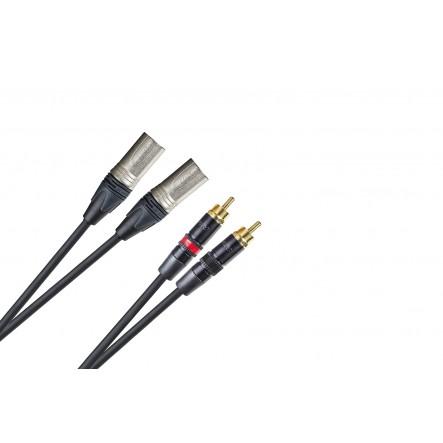 Cable PRO 2 x XLR M...