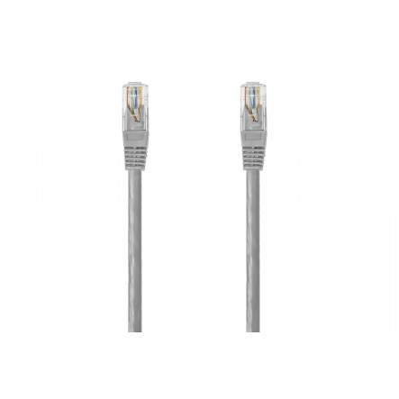 UTP connection Cat 6e grey color