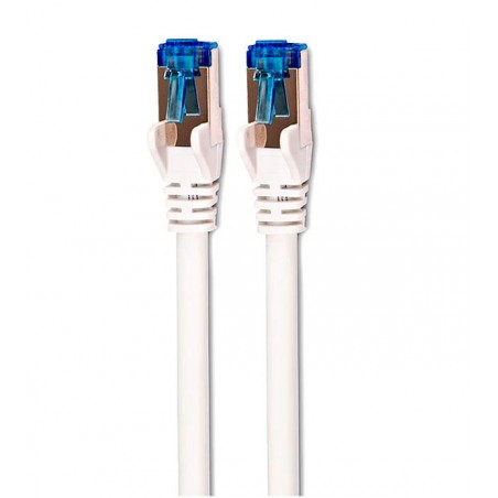 CAT 6A S/STP blanco y azul