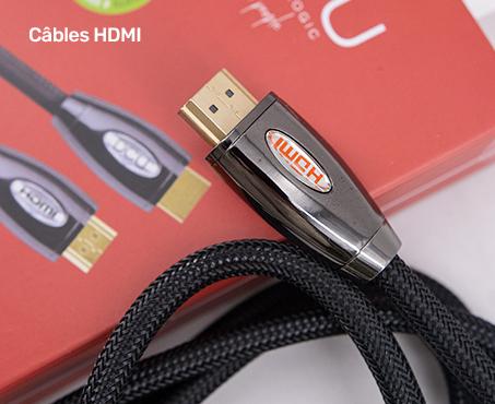 Câbles HDMI- DCU